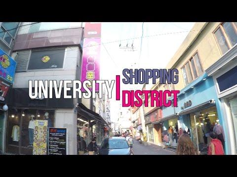 Exploring University Shopping District in Gangneung, South Korea