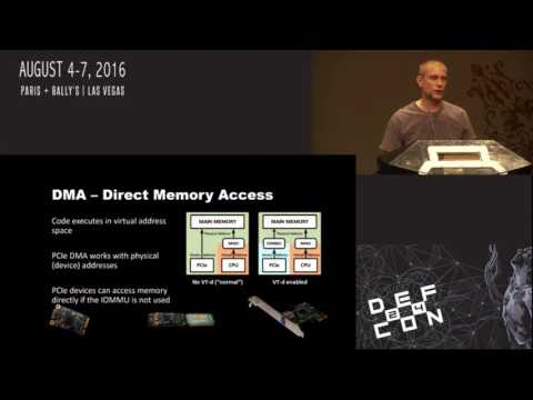 DEF CON 24 - Ulf Frisk - Direct Memory Attack the Kernel