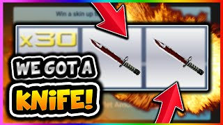 CSGO BETTING: WE GOT A KNIFE!! CSGO SLOTS KNIFE OPENING CSGOHouse (CS GO Gambling Win Reaction)(Site/free coins- https://csgohouse.com/?rid=76561198045872959 - CSGO BETTING: WE GOT A KNIFE!! CSGO SLOTS KNIFE OPENING CSGOHouse (CS GO ..., 2016-07-09T22:07:43.000Z)