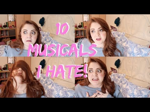 10 MUSICALS I DONT LIKE! Amy Lovatt