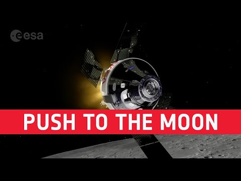 European push to the Moon