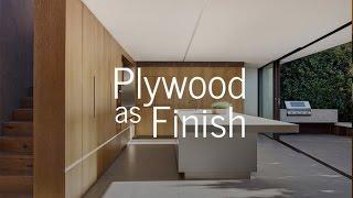 Plywood As Finish