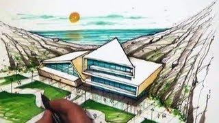 architect emad zand - sketch 08 - خلاقیت در معماری عمادالدین زند