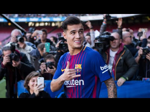 Philippe Coutinho completes transfer from Liverpool to Barcelona