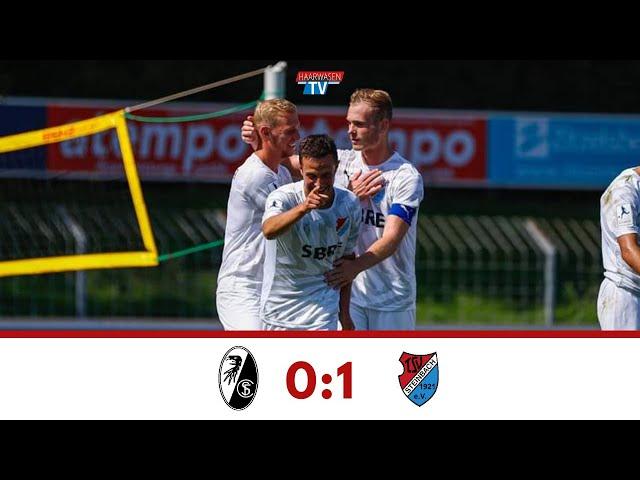 SC Freiburg U23 - TSV Steinbach Haiger 0:1 (Regionalliga Südwest 2019/20)