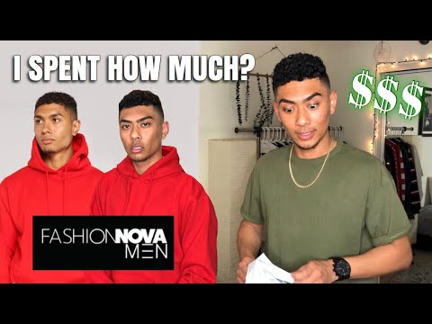 FASHIONNOVA MEN...WAS IT WORTH IT? I SPENT $205 HERES MY FIRST IMPRESSION & HONEST REVIEW