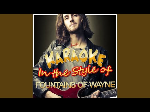 Mexican Wine (In the Style of Fountains of Wayne) (Karaoke Version)