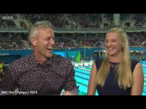 Did Rebecca Adlington tell Mark Foster to 'f*** off' live on television at Rio 2016? Trending News