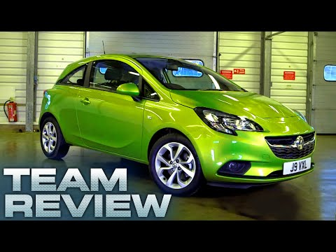 New Vauxhall Corsa 3 Door Team Review Fifth Gear
