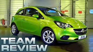 New Vauxhall Corsa 3 Door (Team Review) - Fifth Gear