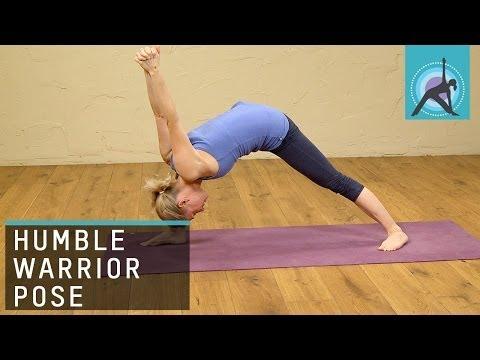 Humble Warrior Pose, Yoga