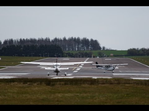 AVIATION - Cork Airport 21.04.2016 movements
