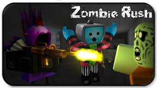 Roblox Zombie Rush - folla immersioni in un'orda di zombie