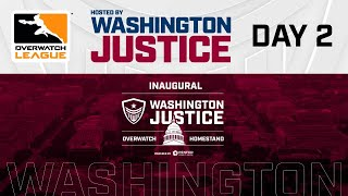 London Spitfire vs. Washington Justice | Overwatch League 2020 Season Week 3 | Day 2