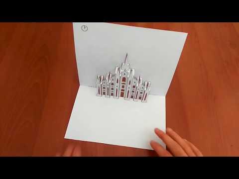 Plantillas para qrear Pop-Up Card  / I kirigami della carta pop-up di Plantillas para qrear