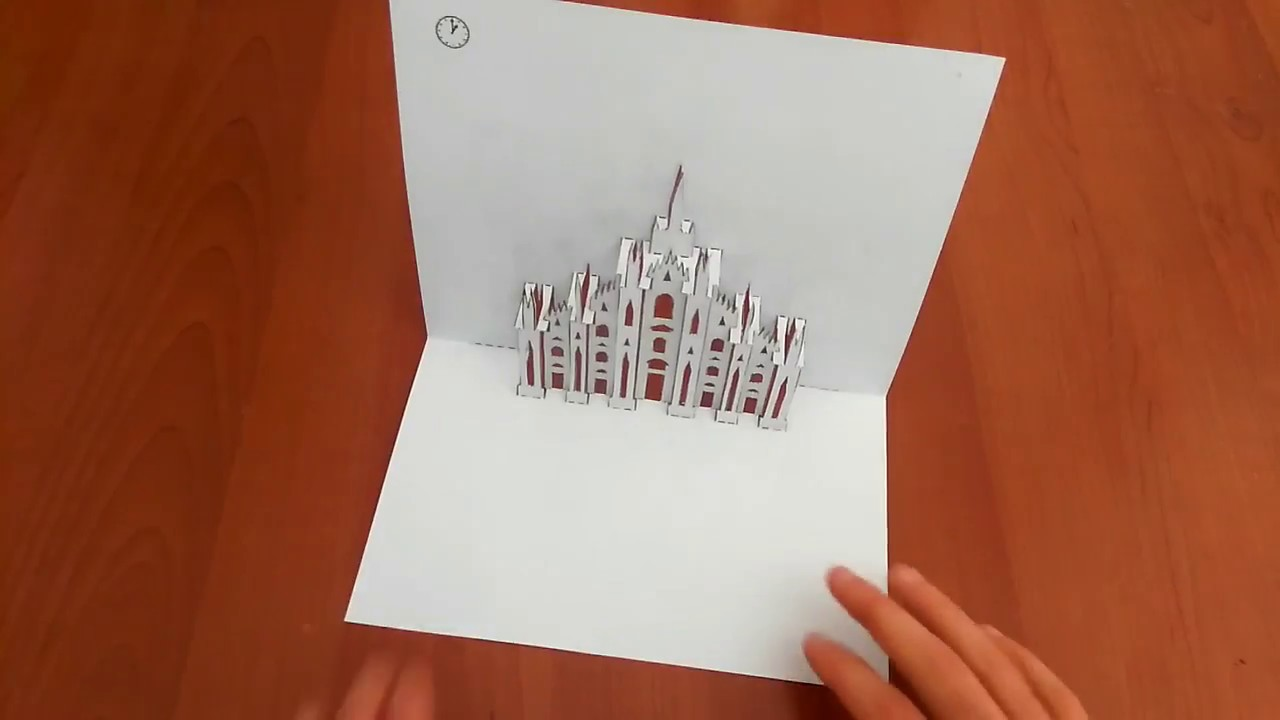 Plantillas para qrear Pop-Up Card / I kirigami della carta pop-up di ...