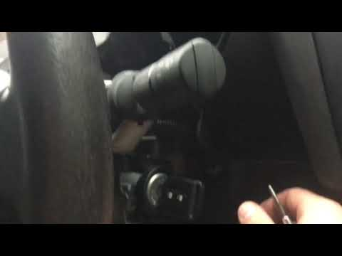 Застрял ключ в замке зажигания Ниссан Кашкай 2013 г. Ремонт часть 1