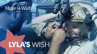 Lyla's wish to be a Navy SEAL