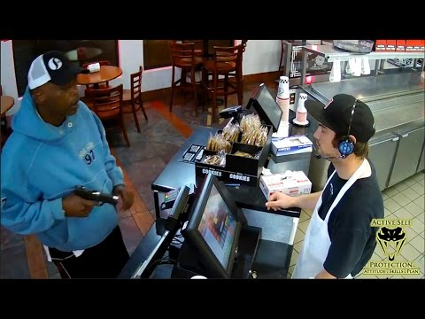 Armed Robber Uses Jammed Gun in Armed Robbery | Active Self Protection