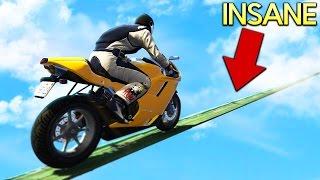 IMPOSSIBLE BIKE CHALLENGE! Girlfriend vs Boyfriend Challenge! (GTA 5 Online Multiplayer)