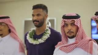 بالفيديو والصور.. استقبال أسطوري من جماهير الأهلي للحارس محمد العويس