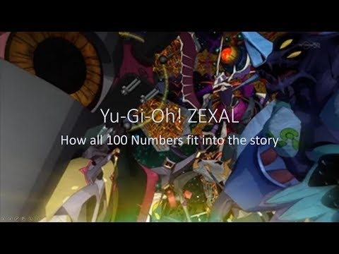 All 100 Number Cards' Relations To The ZEXAL Plot (time Links To Specific Numbers In Description)
