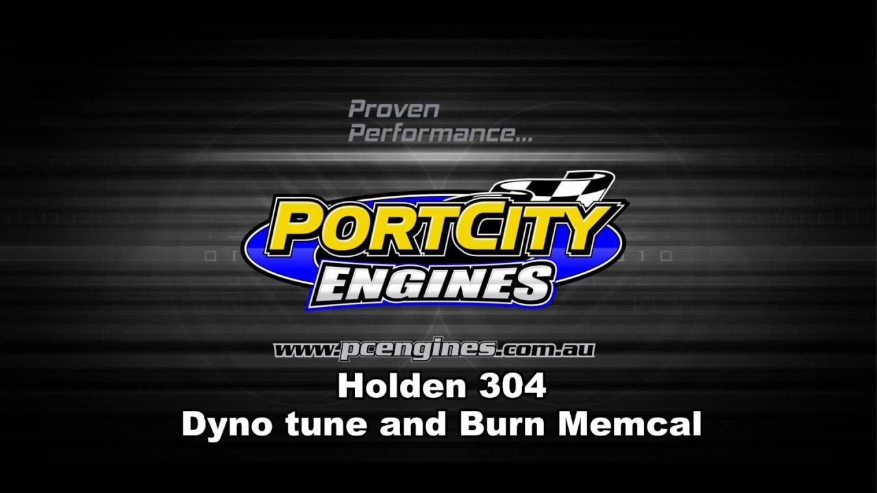 Holden 304 EFI tune on dyno