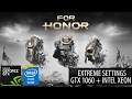 MSI GTX 1060 ARMOR 6G OCV1 | For Honor Beta
