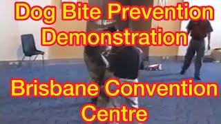 Dog Bite Prevention Demonstration