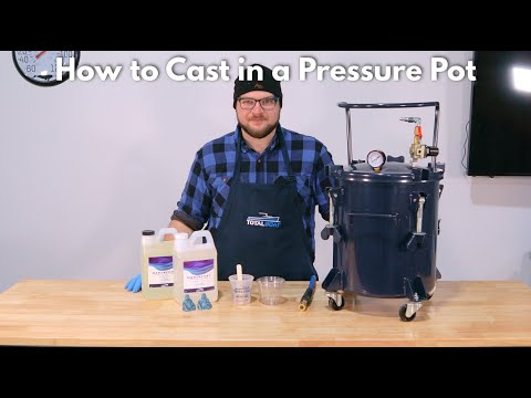 How to Cast Epoxy Resin in a Pressure Pot