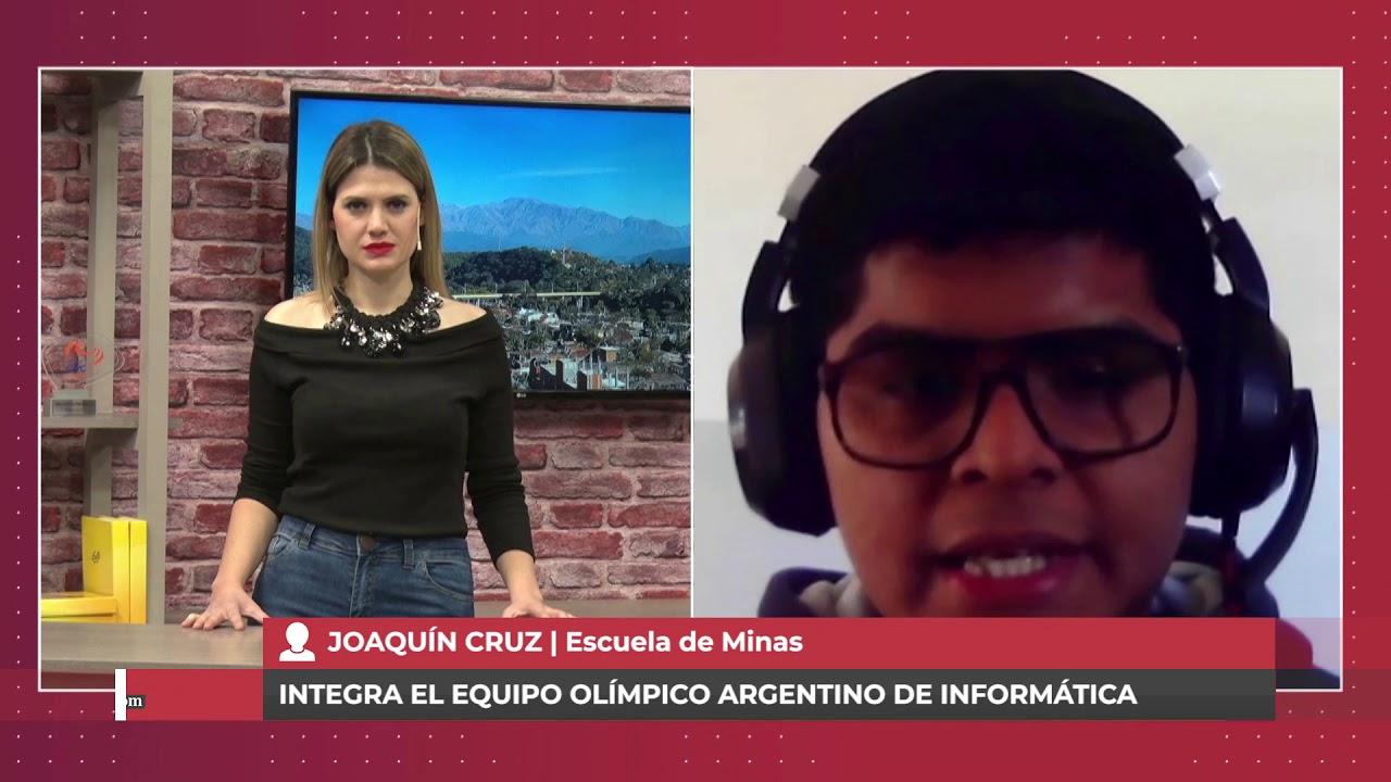 UN ESTUDIANTE JUJEÑO PARTICIPARÁ DE LAS OLIMPIADAS INTERNACIONALES DE INFORMÁTICA