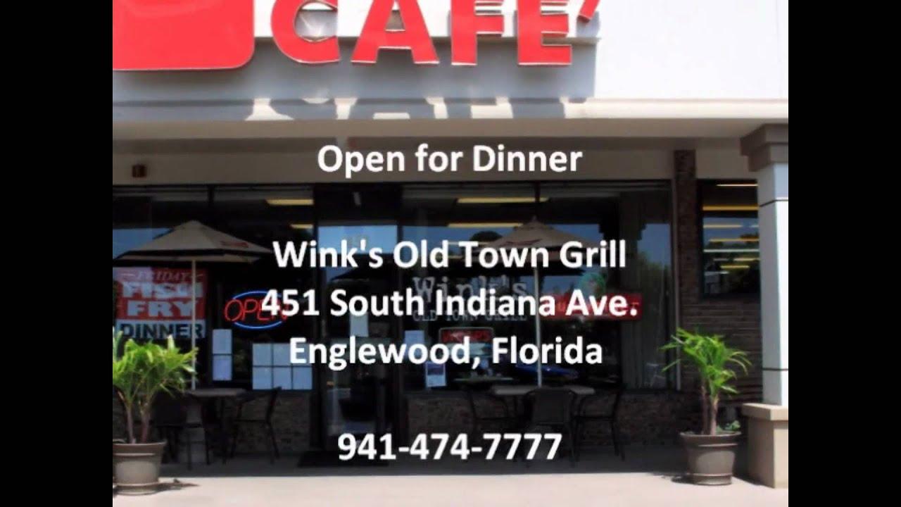 Englewood FL Restaurant Breakfast Lunch Dinner Winks Old ...