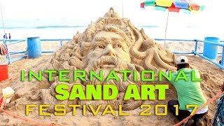 International Sand Art festival Odisha,India 2017