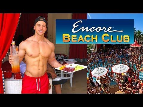 $6000 Encore Beach Club Experience