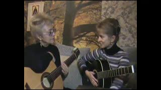 Фрагмент урока на #гитаре с ученицей