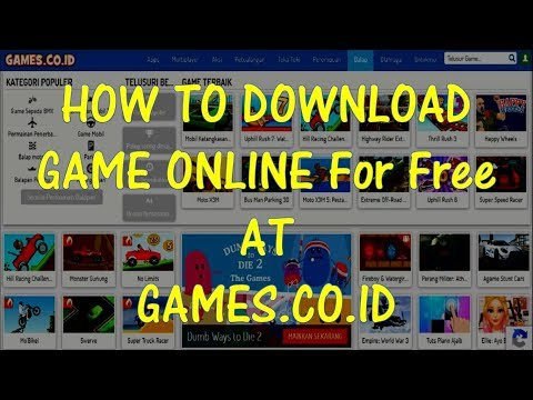 How To Download Game Online For Free At GAMES.CO.ID   David Downloader Tutorial
