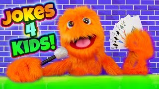 Jokes For Kids that are really funny in English! TRY NOT TO LAUGH! 100 Jokes Compilation 2017
