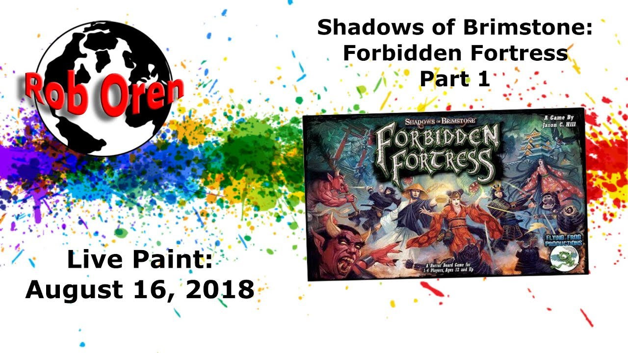 Shadows of Brimstone: Forbidden Fortress Core Set | Board