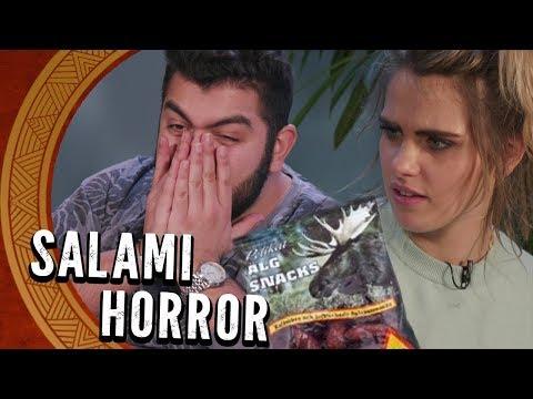 Ekelhafte Elch-Salami! Verrückte Snacks aus der ganzen Welt mit Sarah Mangione – Faisal Kawusi