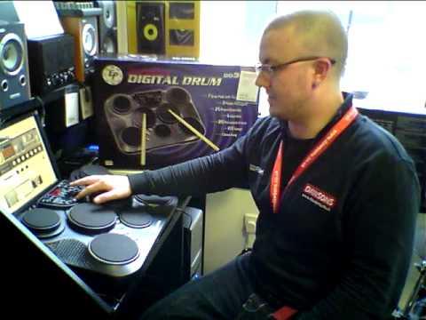 Essentials DD305 Portable Digital Drum Machine