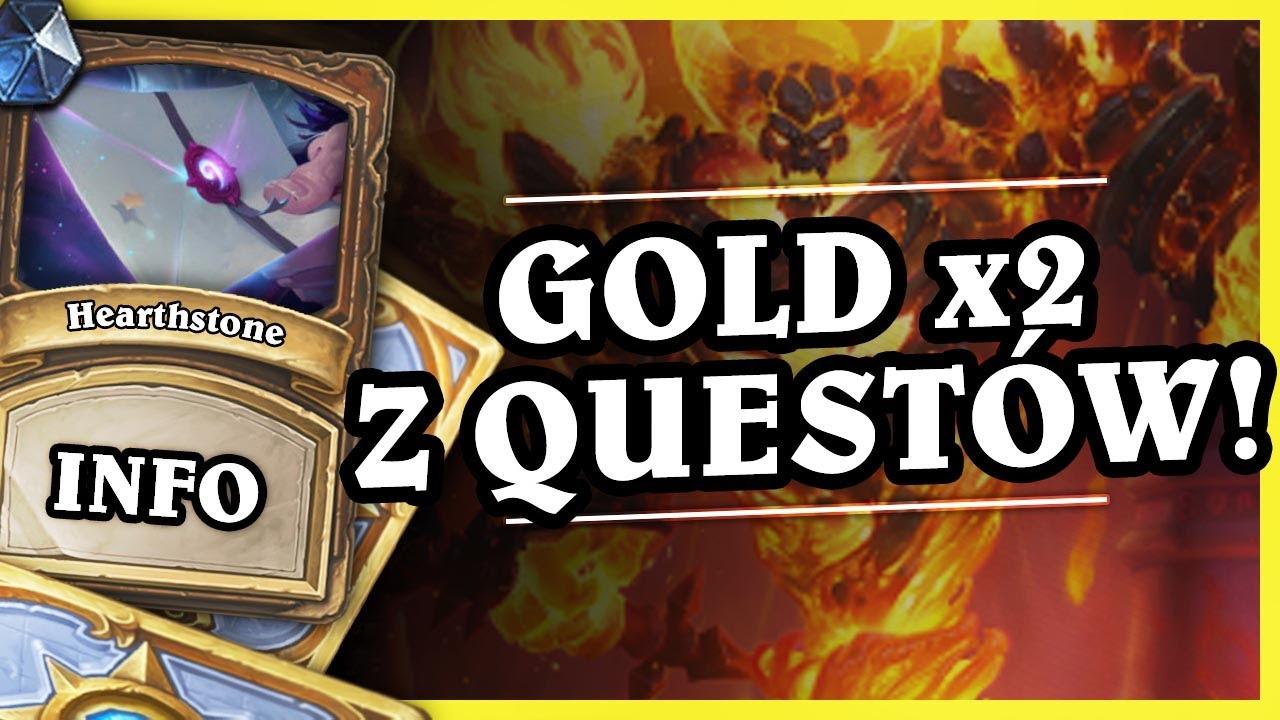 PODWÓJNY GOLD Z QUESTÓW! – Hearthstone Info