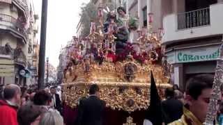 Foto de la Oración en el Huerto de Linares casi en el tramo final de la calle Canalejas
