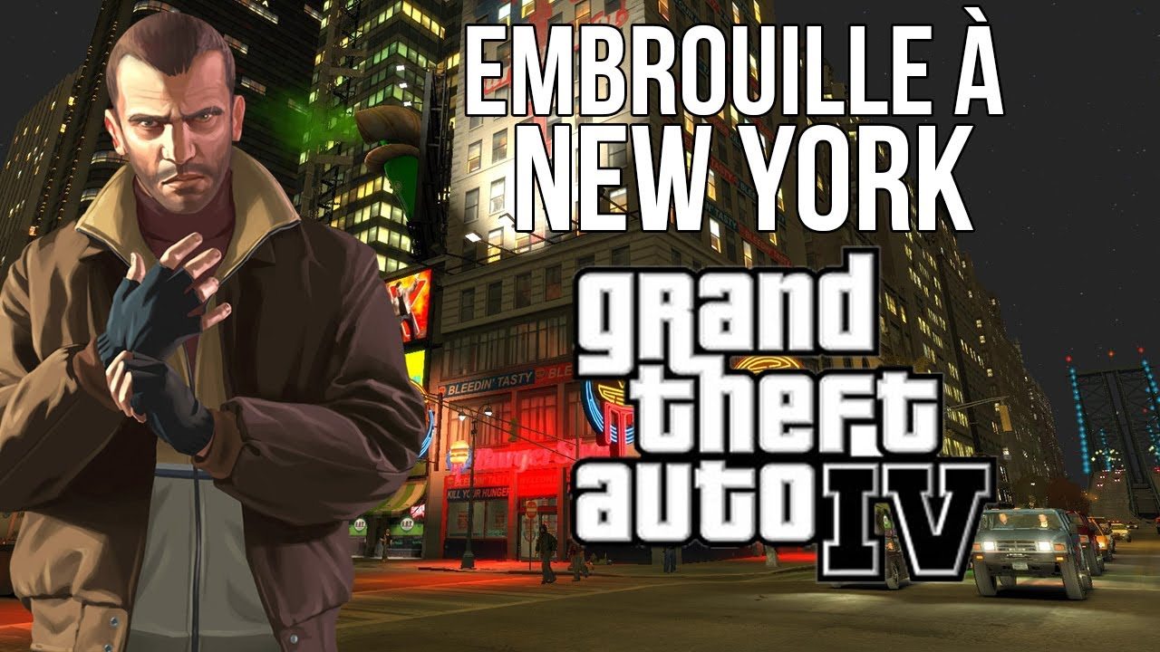GTA 4 - Embrouilles à New York [Feat. Aiekillu et Liberty] - Laissez-moi vos avis sur ce montage, je l'ai un peu plus bossé que les précédents !