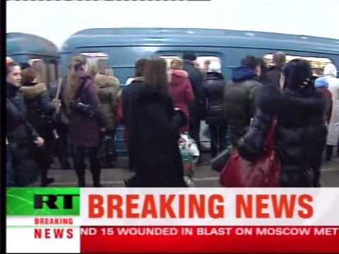 Explosions at Central Moscow Subway Stations Russian Television Reports
