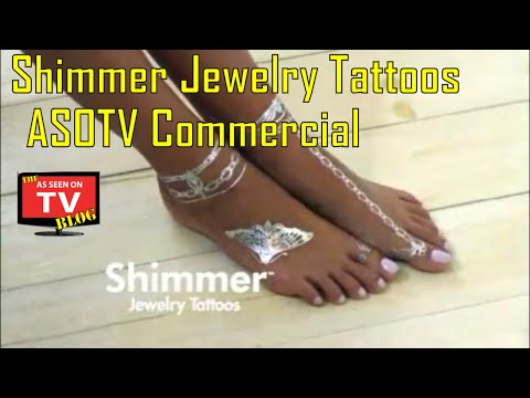 Shimmer Jewelry Tattoos As Seen On TV Commercial Buy Shimmer Jewelry Tattoos As Seen On TV Tattoos