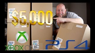 Baixar I PAID $494 for a $5,000 Amazon Customer Returns ELECTRONICS & Video Game Pallet + XBOX ONE Sony PS4