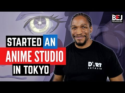 The First Black-Owned Anime Studio In Japan (Black In Japan) | MFiles