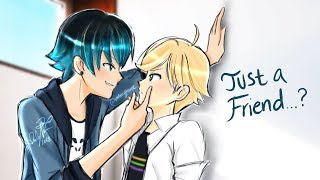 """JUST A FRIEND...?"" Part 6 ♥️ Miraculous Ladybug Comic Dub 