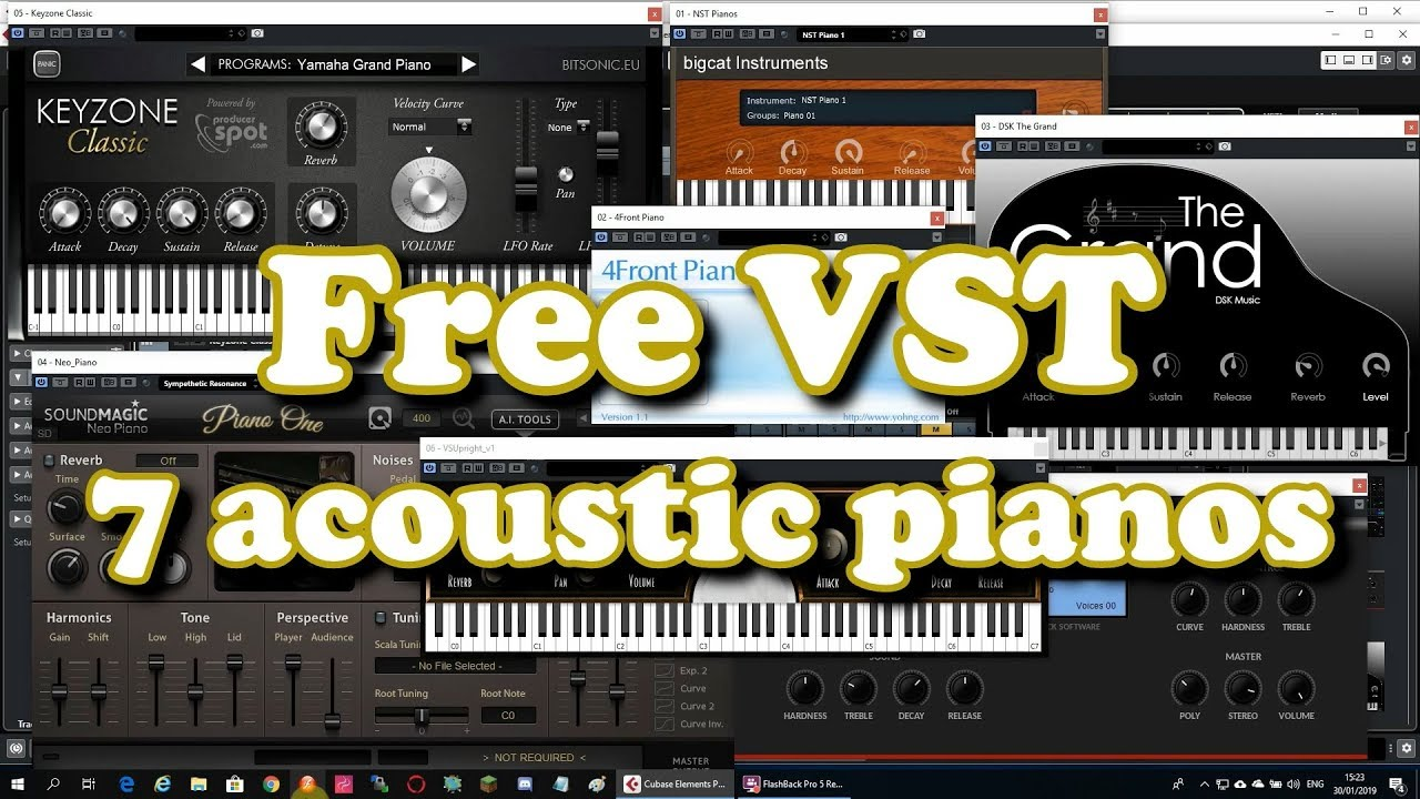 Top 7 free Acoustic Piano VST plugins (2019)