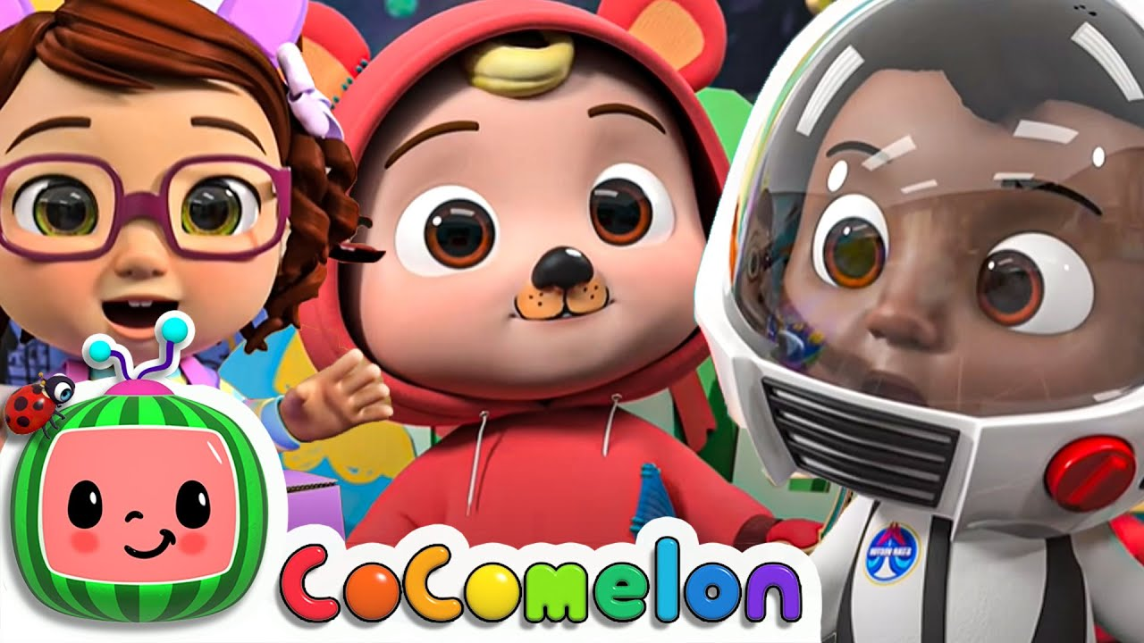 Dress Up Day At School + More Nursery Rhymes & Kids Songs | CoComelon Baby Songs | Moonbug Kids